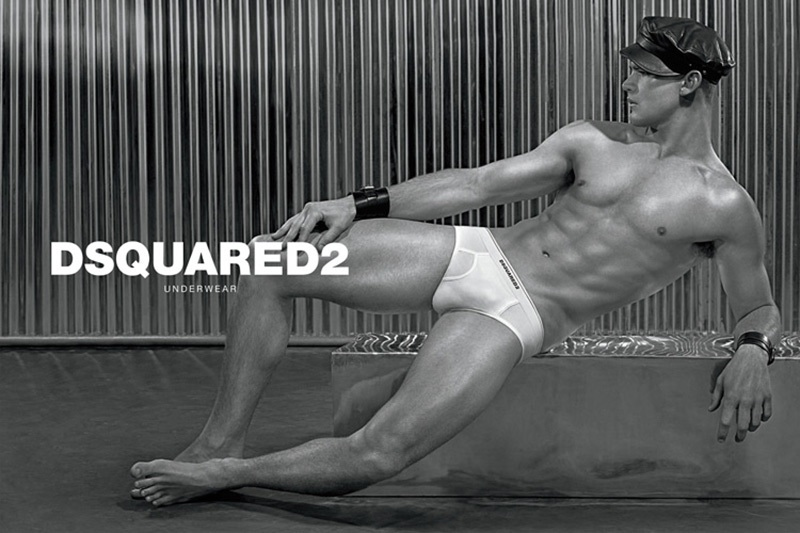 Dsquared2 male underwear model
