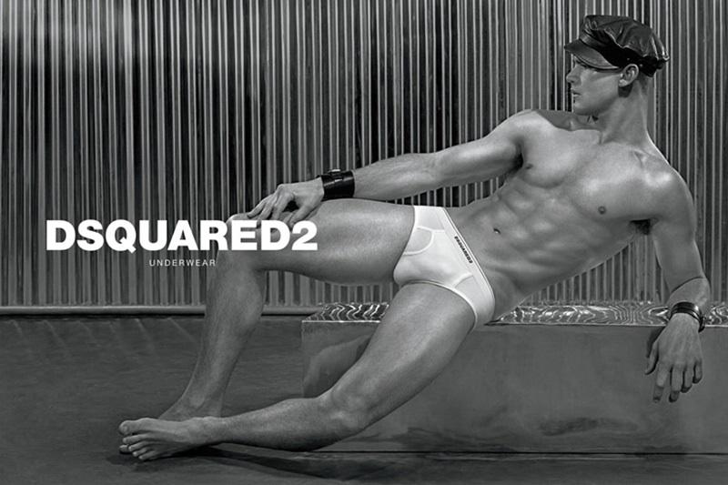 Dsquared2 male underwear model