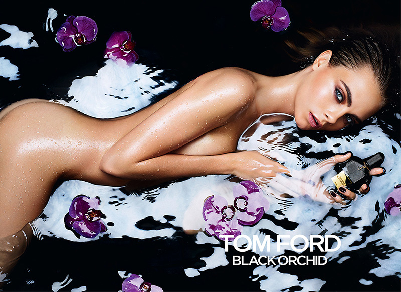 Cara Delevingne Naked For Tom Ford