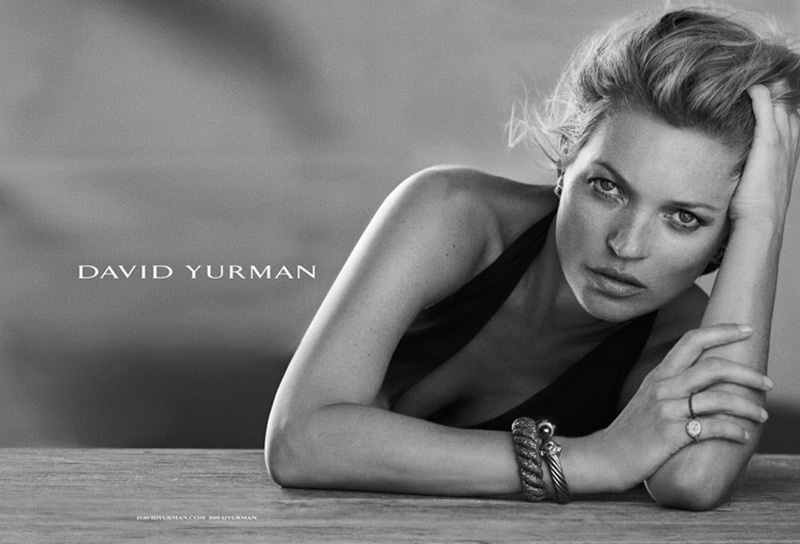 Kate Moss for David Yurman