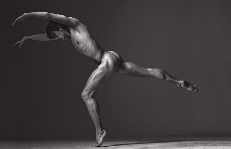 Sergei Polunin naked Marc Jacobs