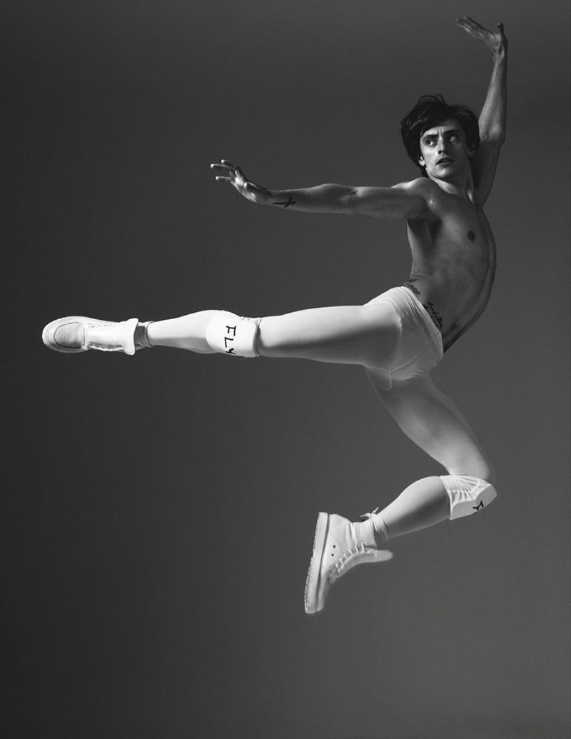 Sergei Polunin for Marc Jacobs