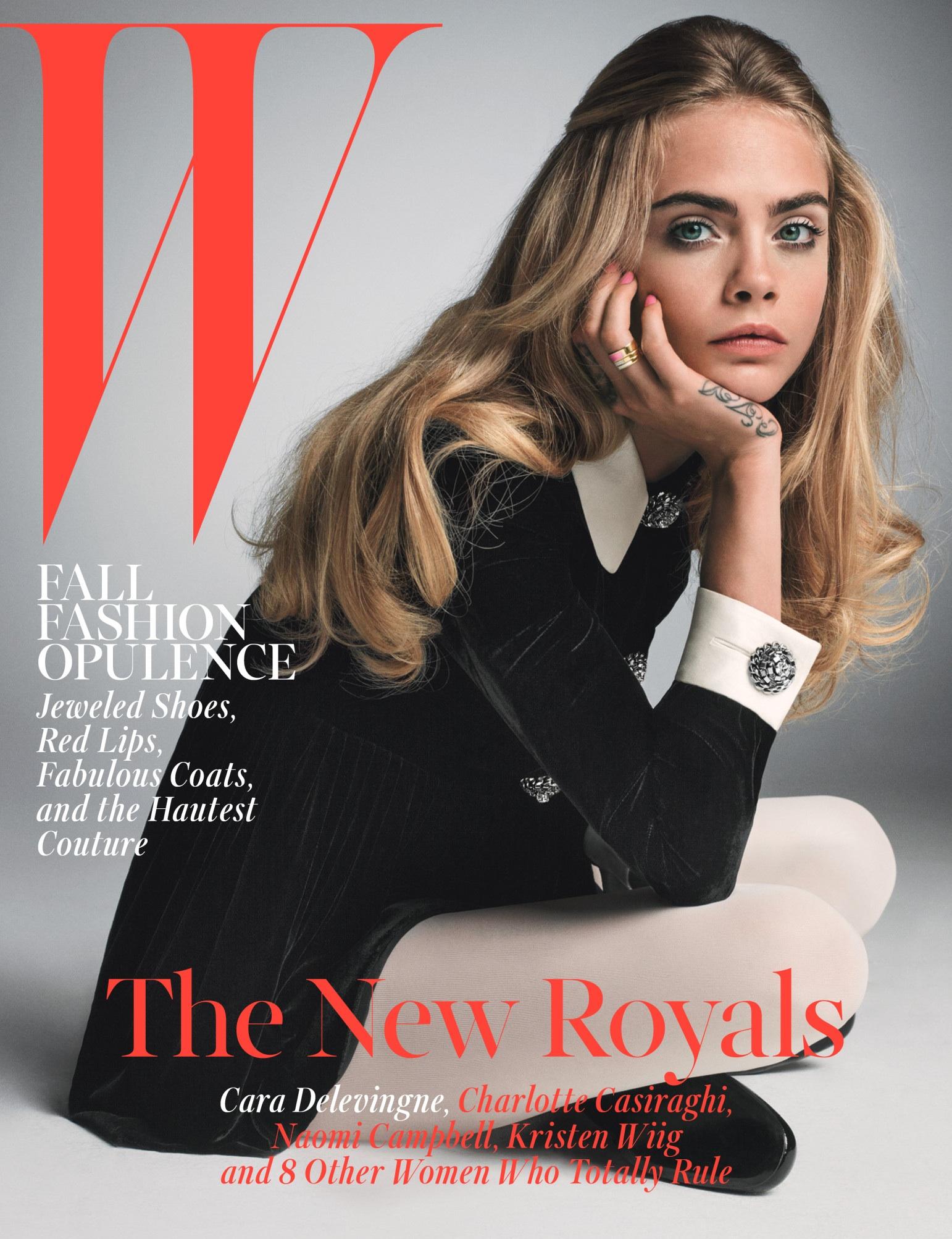 Cara Delevingne W Magazine