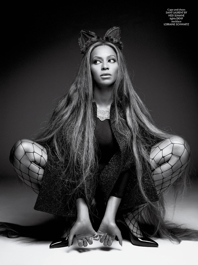 Beyonce Riccardo Tisci CR Fashion Book