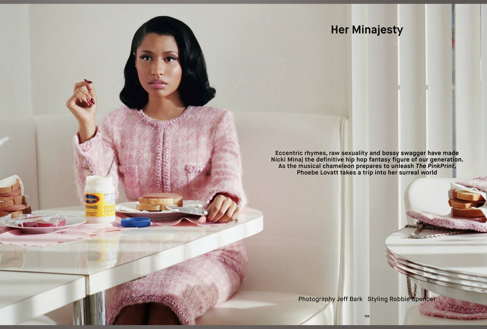 Nicki Minaj Chanel for Dazed and Confused