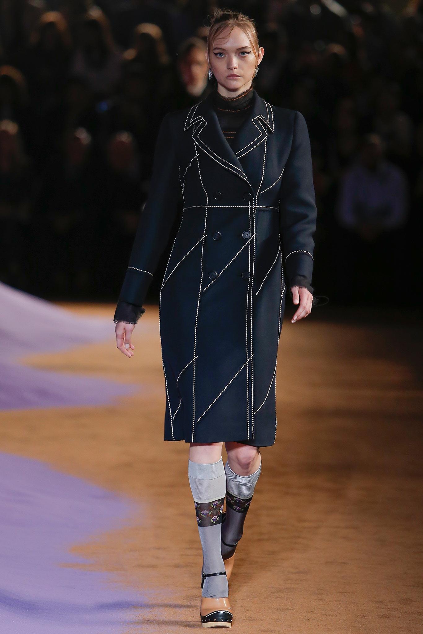 Gemma Ward opens Prada