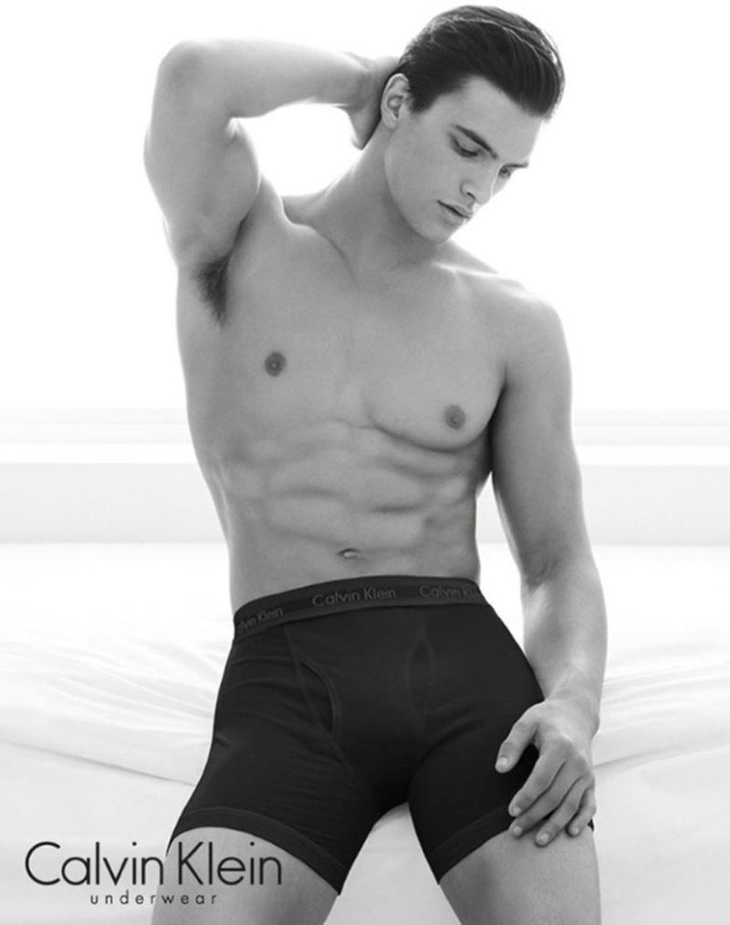 Matthew Terry Calvin Klein underwear
