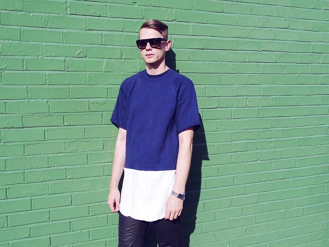 Mens designer sweatshirt