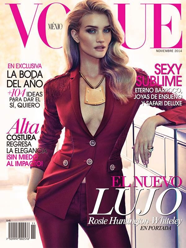 Rosie Huntington-Whiteley Vogue Mexico