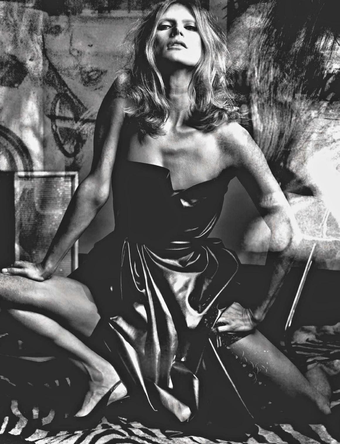 Thin model Vogue Italia