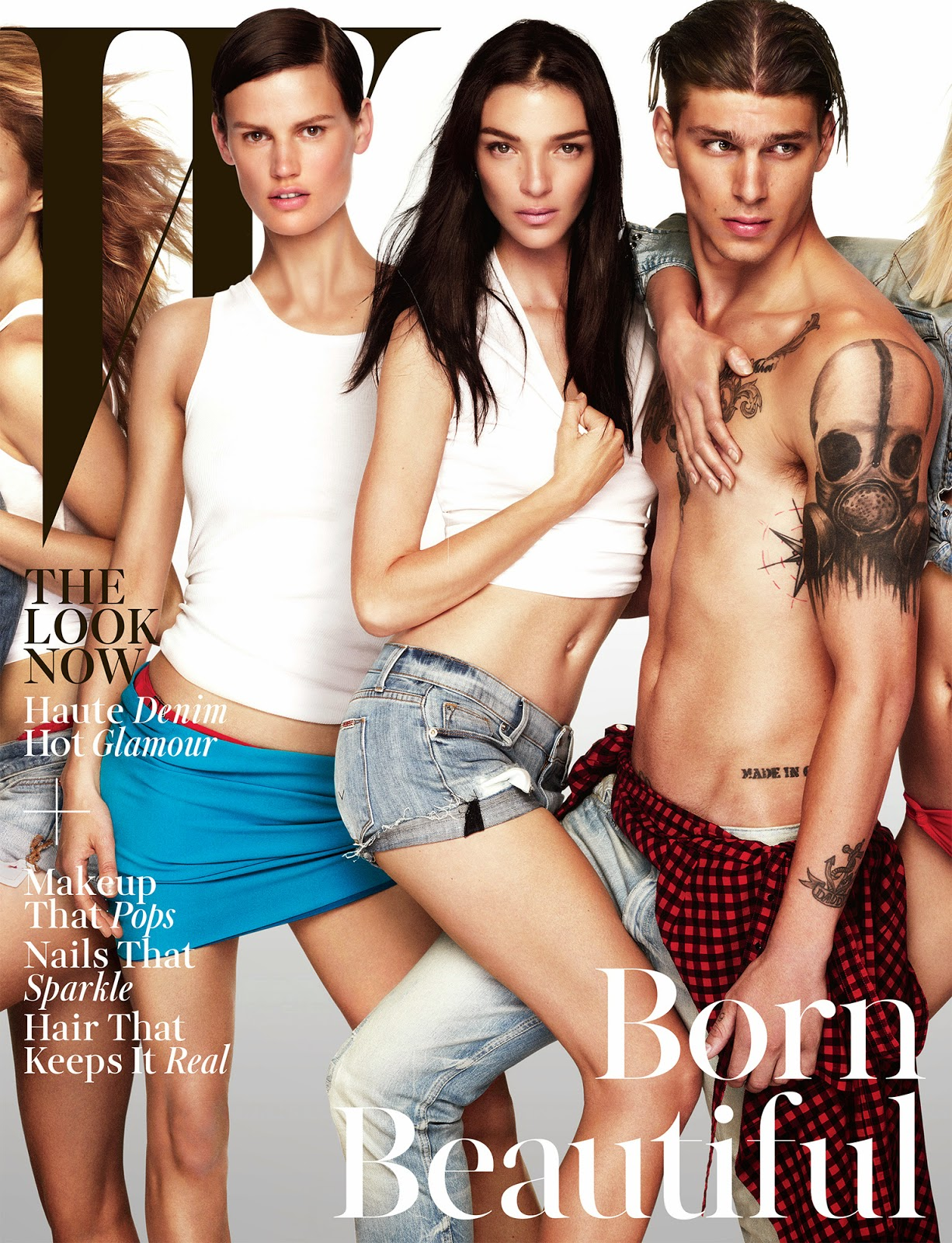 Sasha de brauw Mariacarla Boscono W Magazine