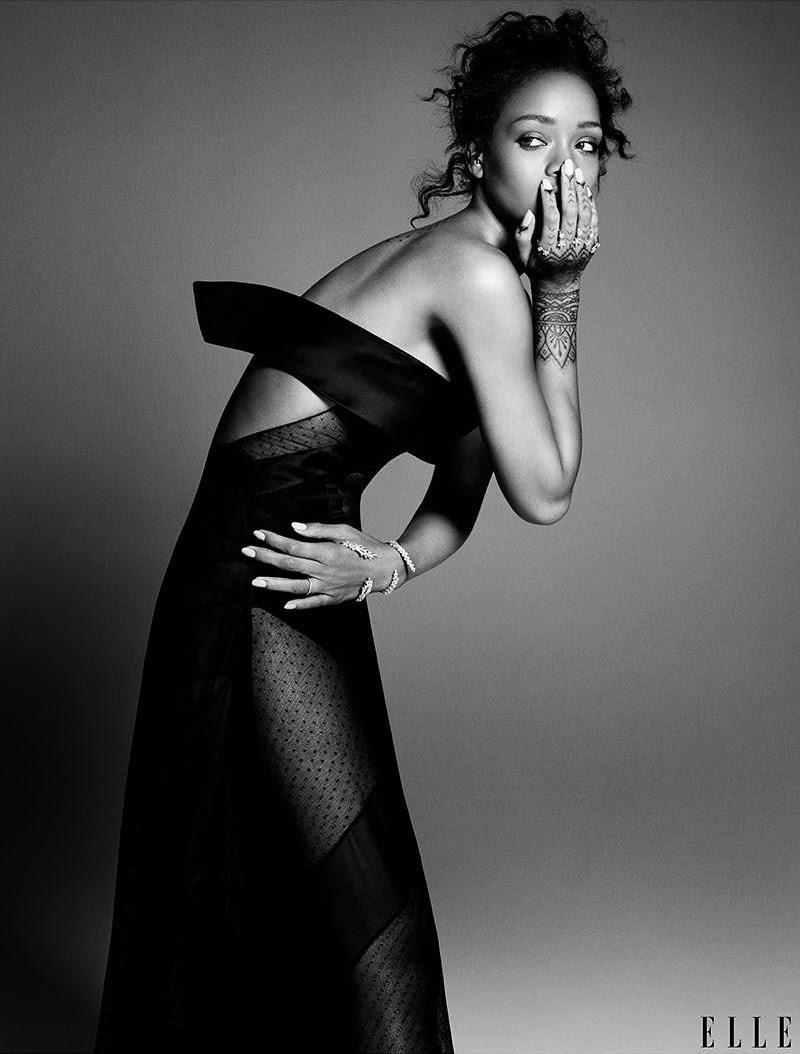 Rihanna Elle US