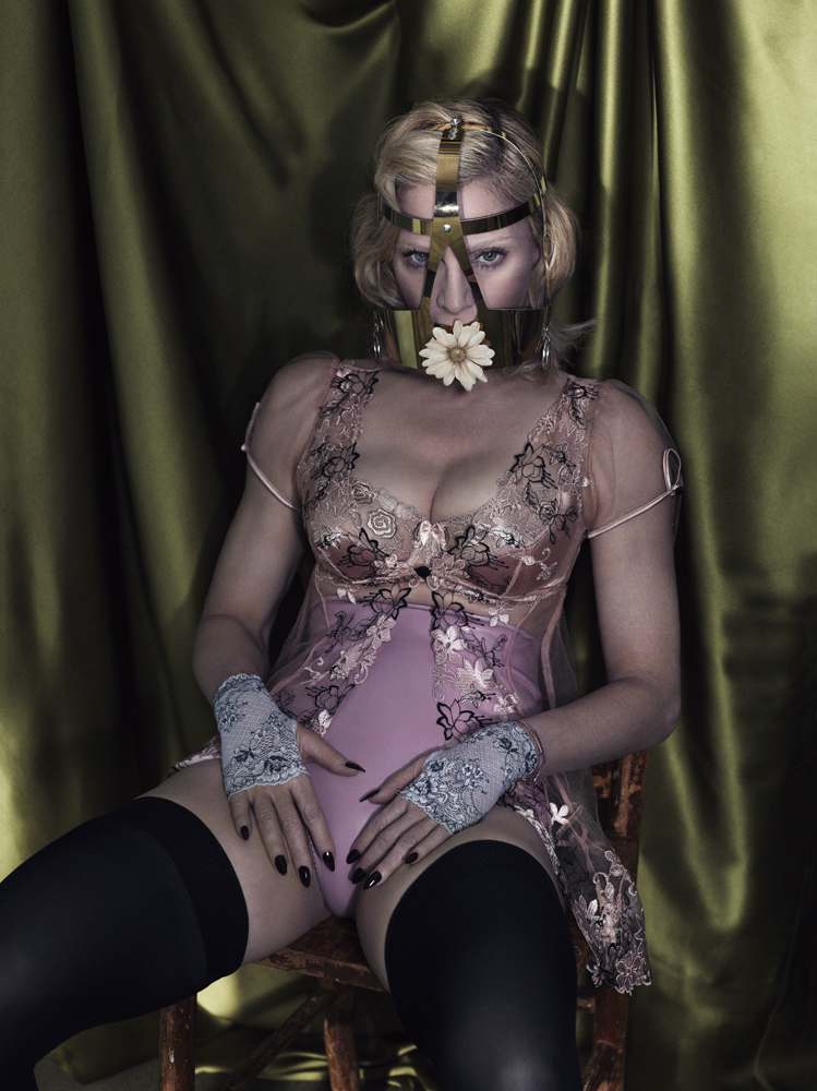 Madonna nipple Interview magazine