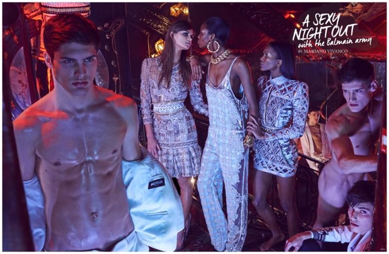 Tetu Magazine Balmian naked