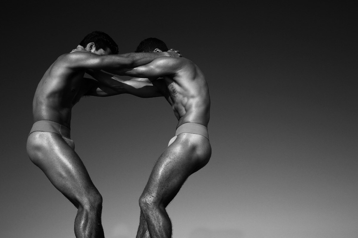 Miami City Ballet dancers Jovani Furlan and Neil Marshall