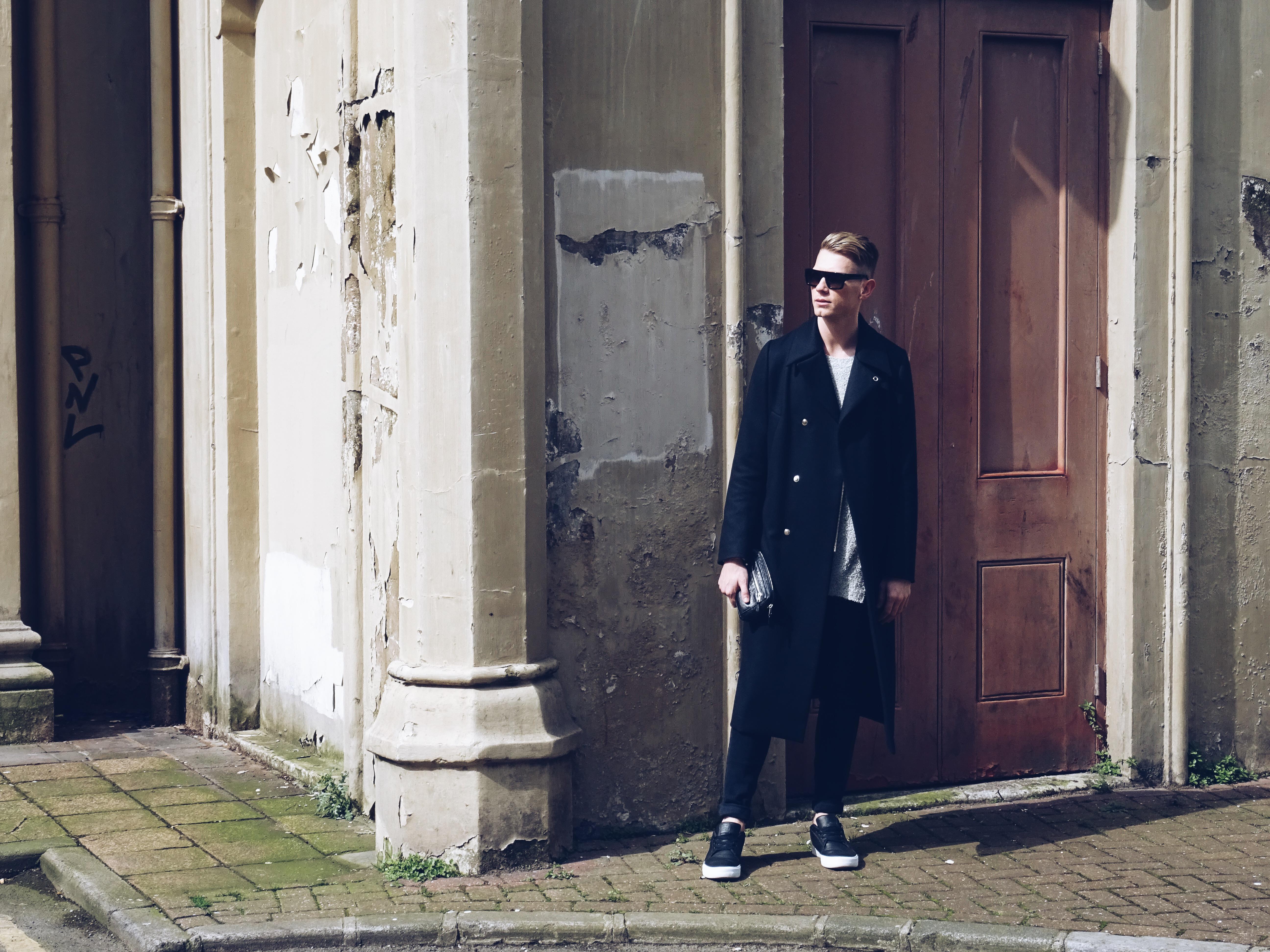 Balenciaga menswear sunglasses