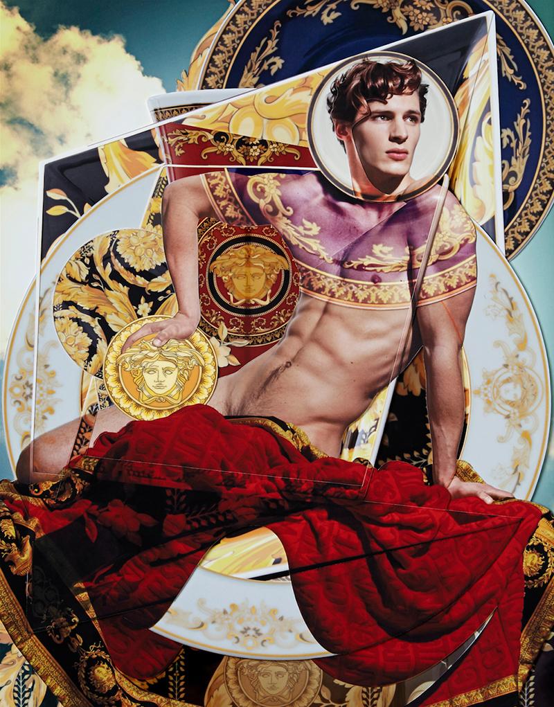 Lucas Mikulski naked Versace