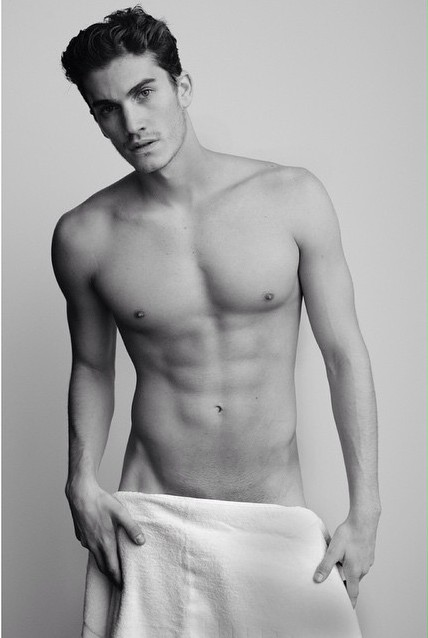 Tomas Guarracino naked Testino Towel Series