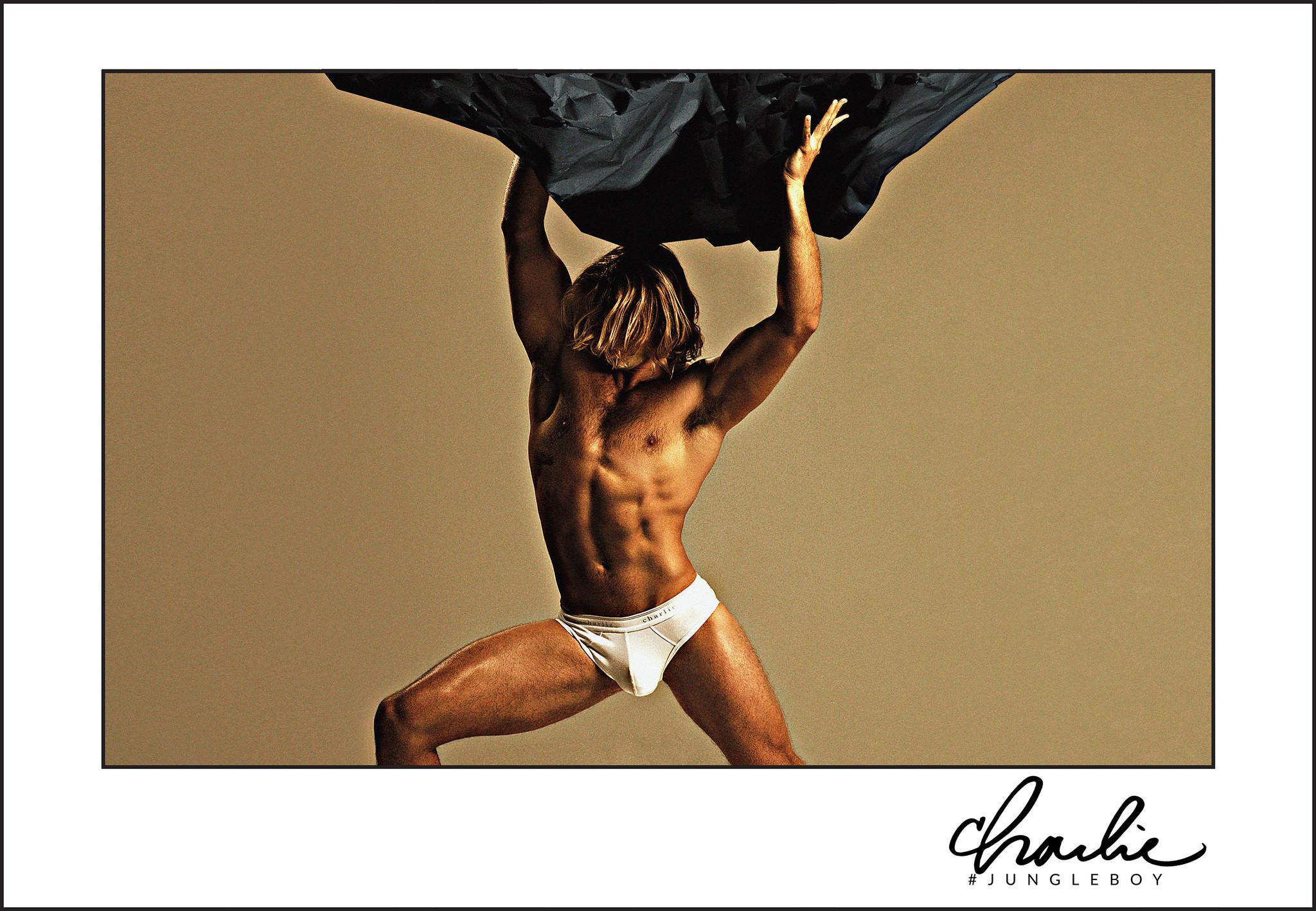 Charlie by Matthew Zink Jungle Boy underwear
