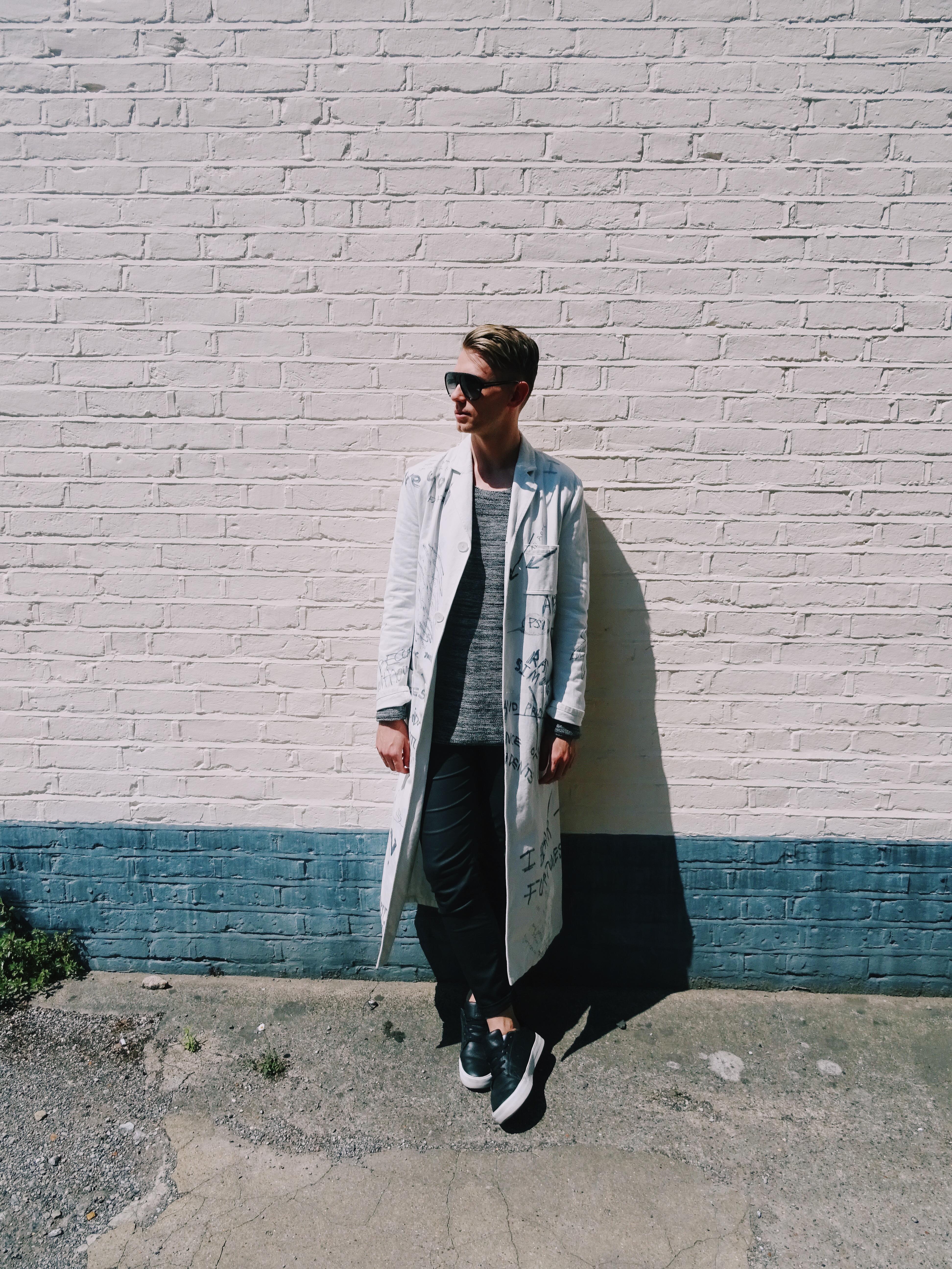 Raf Simons coat AW15