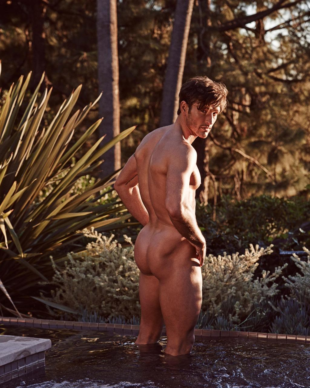Parker Gregory naked OUT Magazine