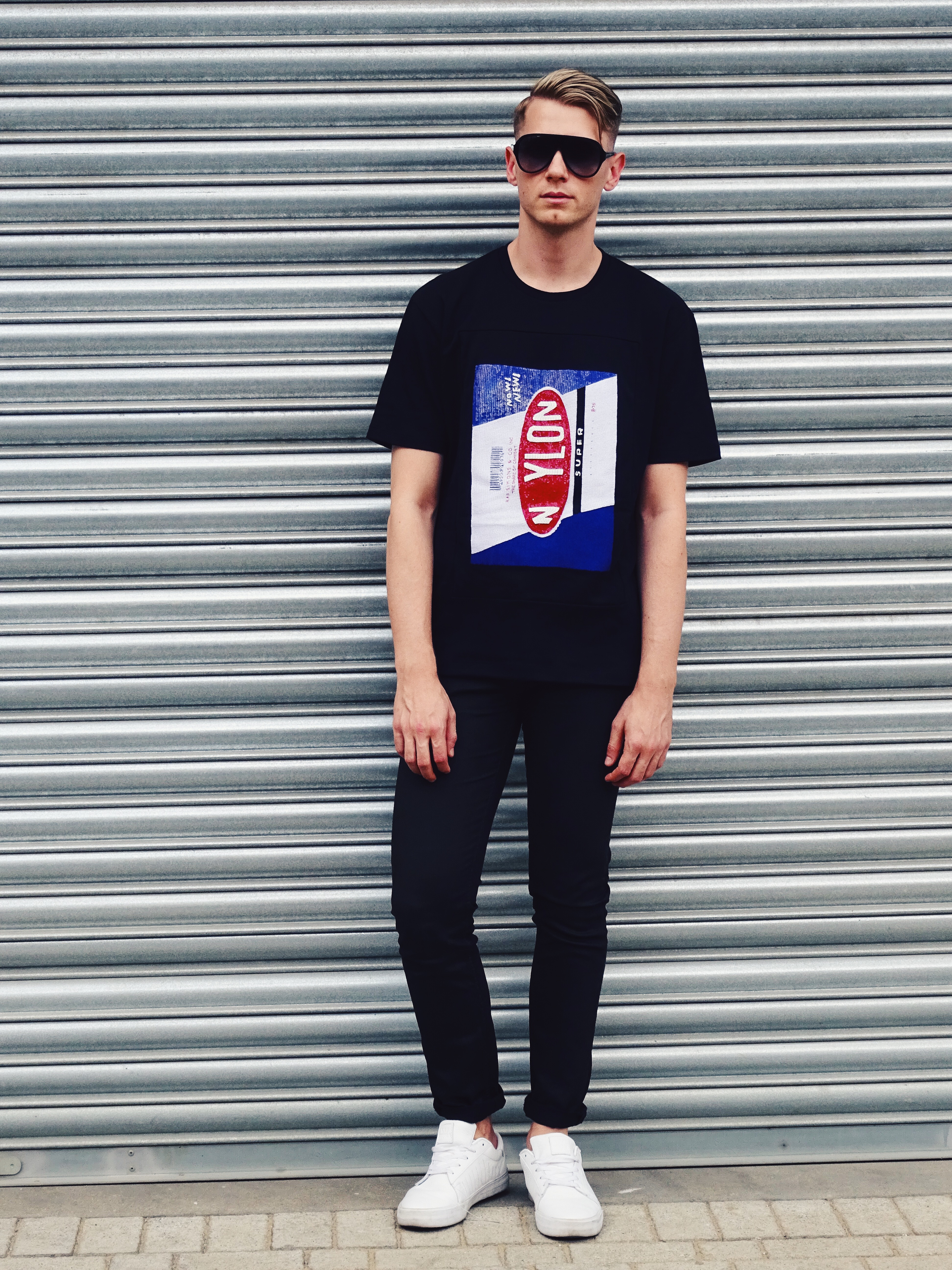 Raf Simons Nylon Spring Summer T-shirt