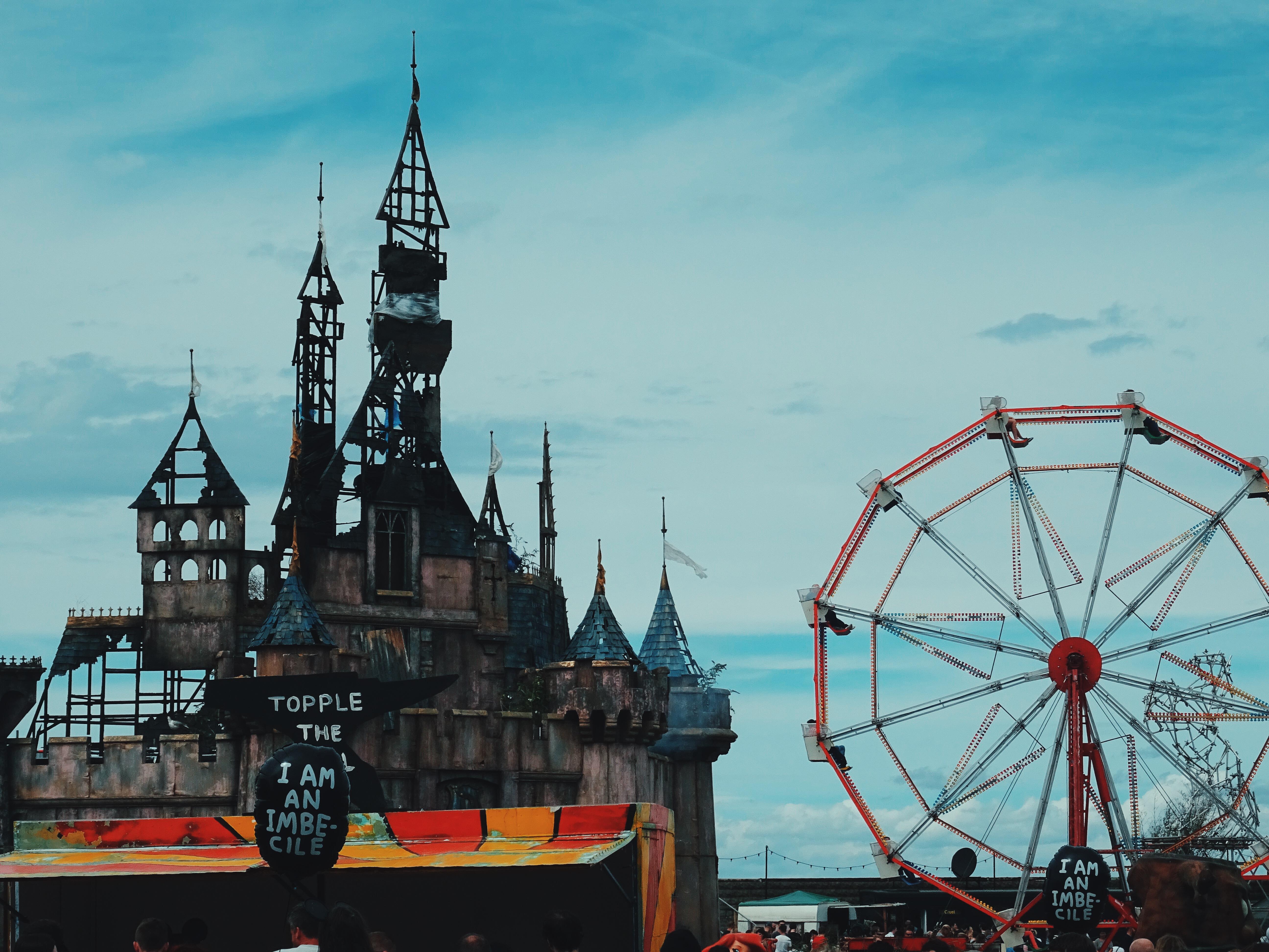 Banksy Dismaland Cinderella's Castle