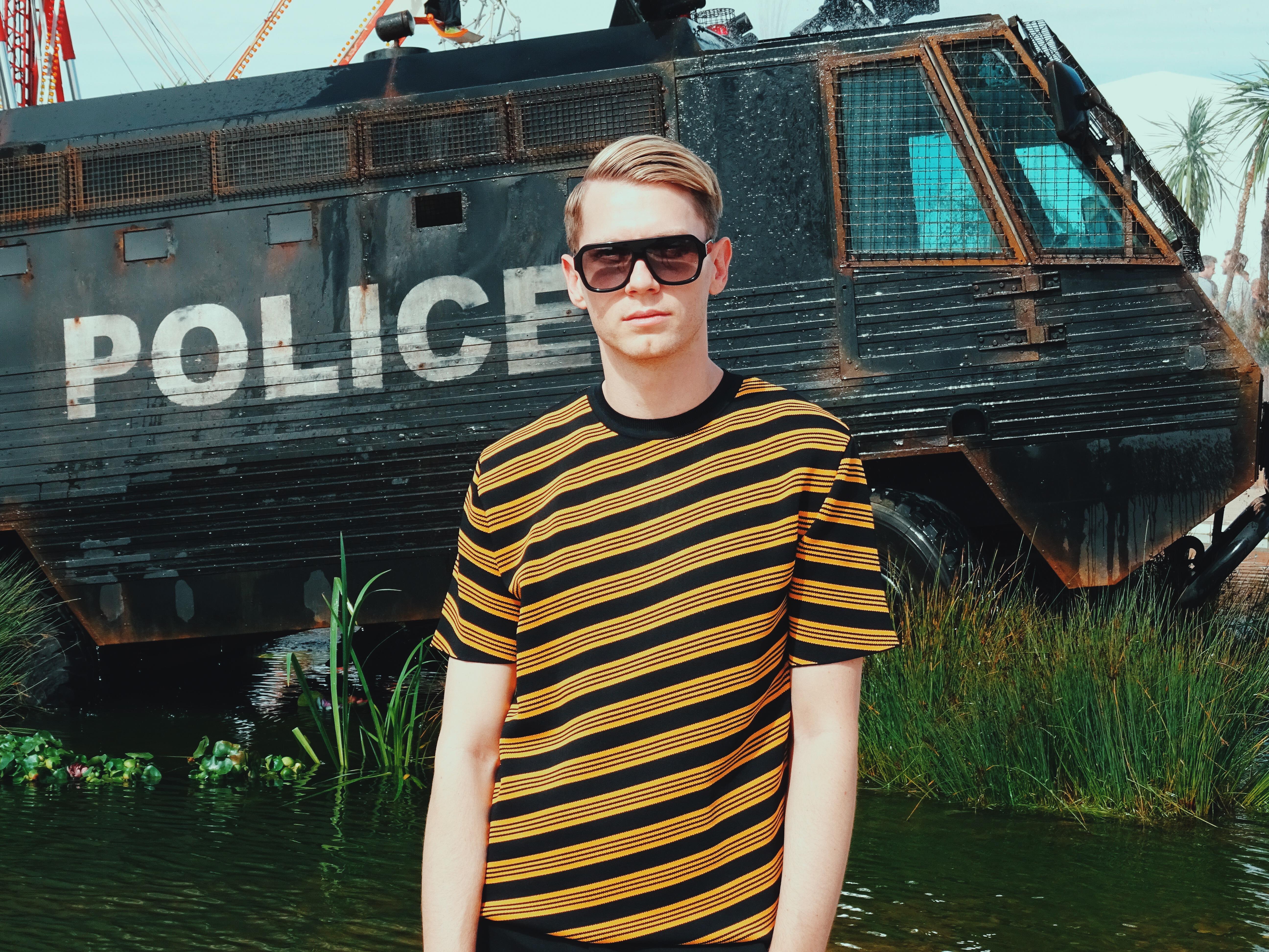 Banksy Dismaland Police