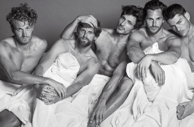 male supermodels naked