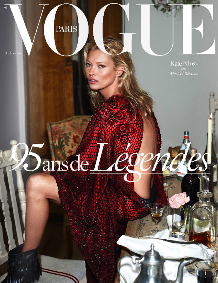 Kate Moss Vogue Paris