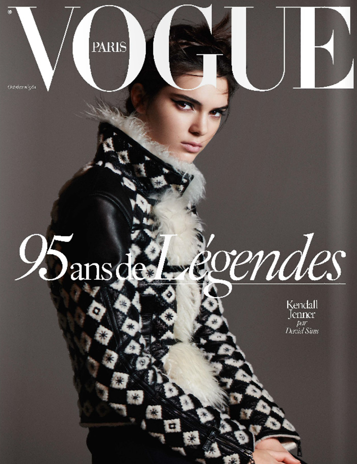 Kendall Jenner Vogue Paris