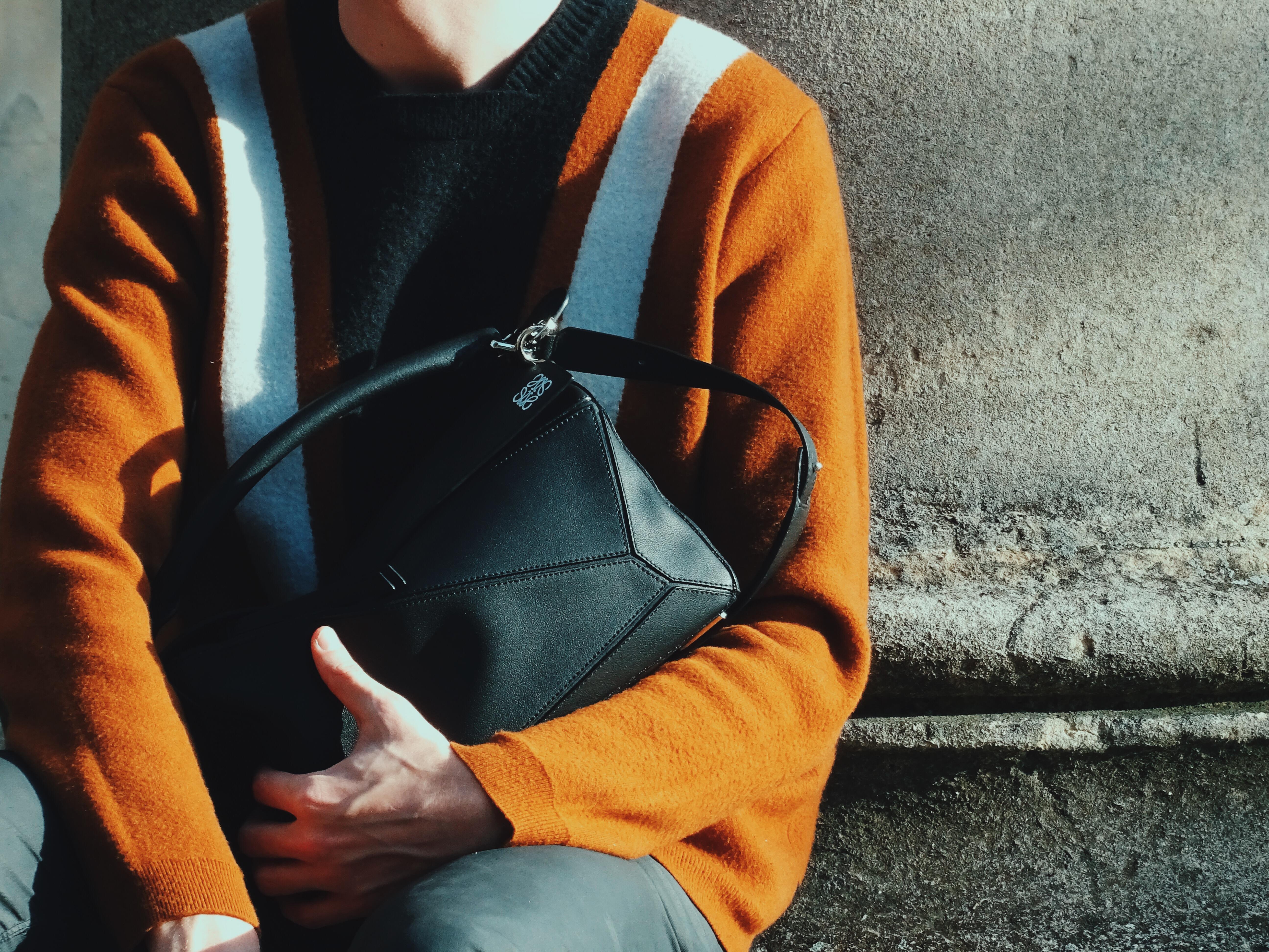 Loewe Puzzle Bag Menswear Streetstyle
