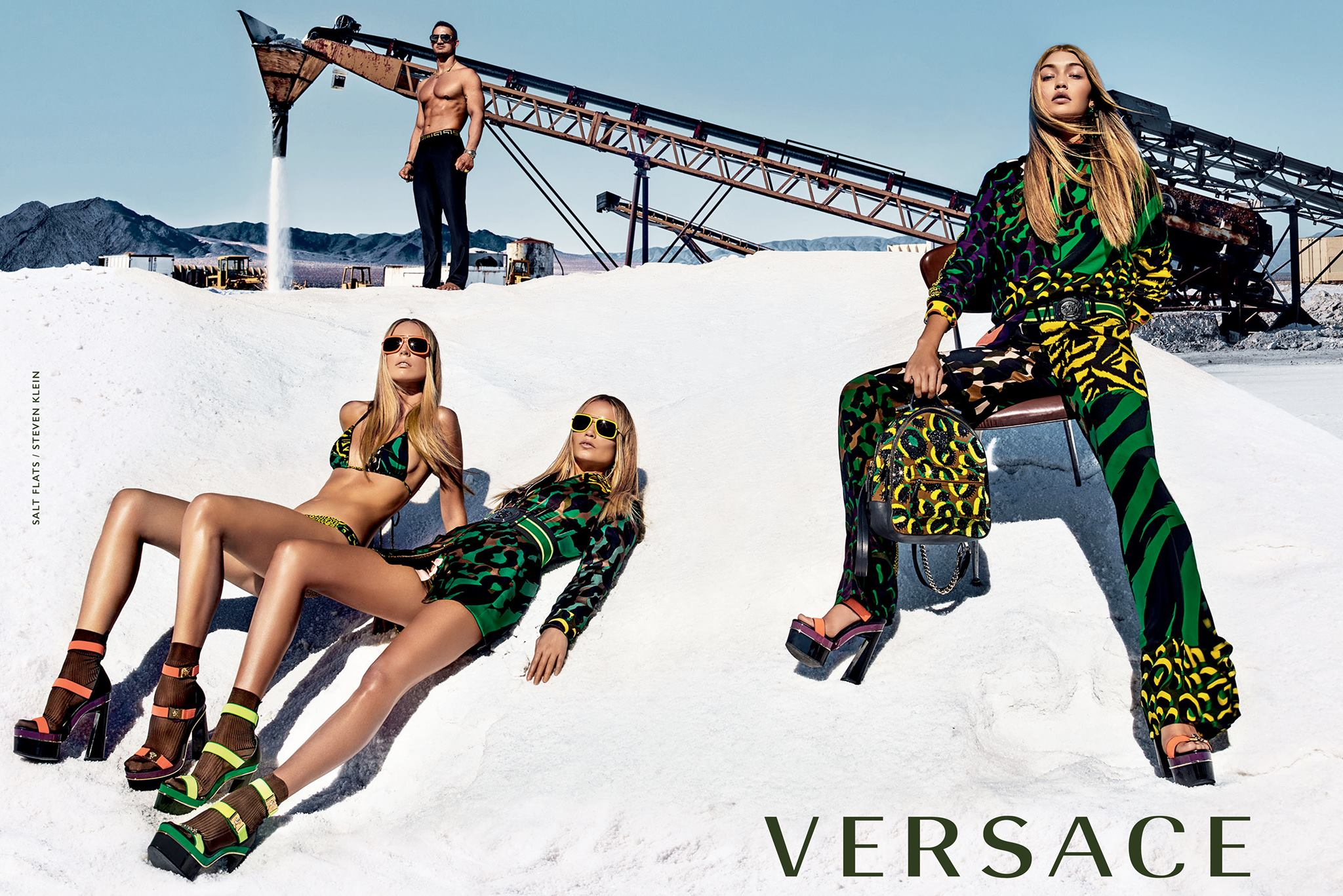 Versace SS16 Campaign