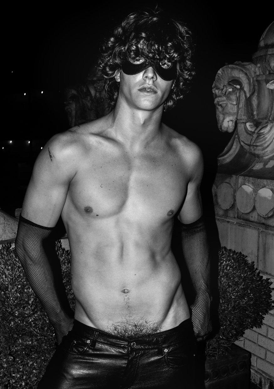 sleepless nights male models Leo Bruno