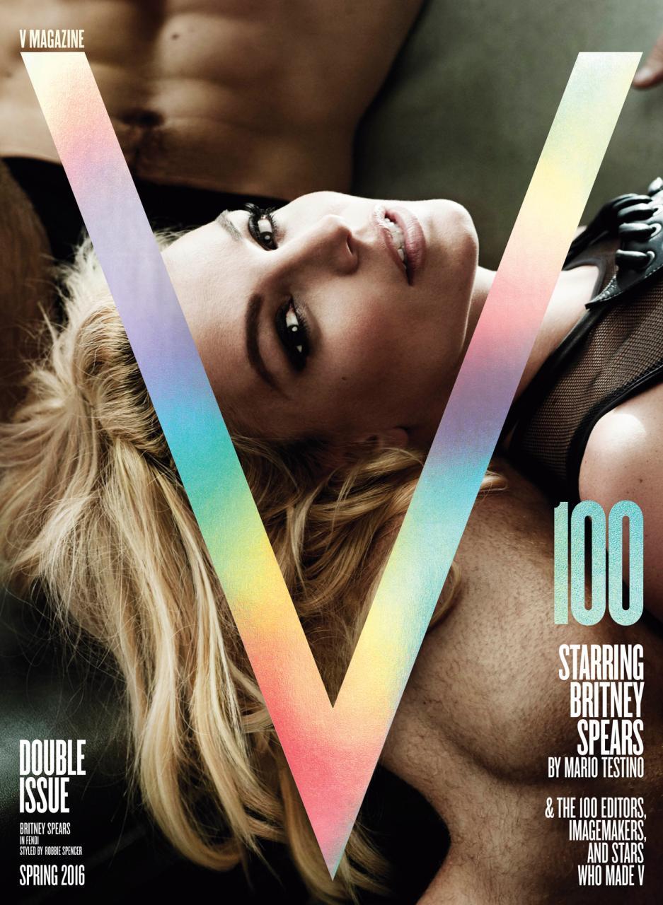 Britney Spears V Mag