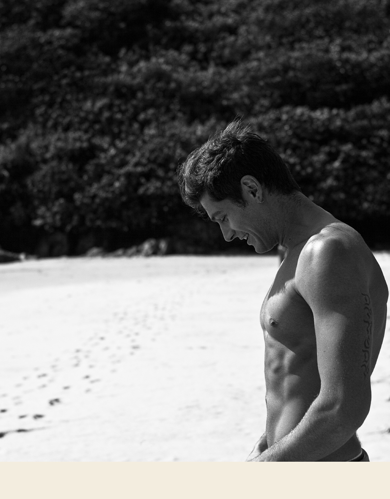 Male model lifeguard