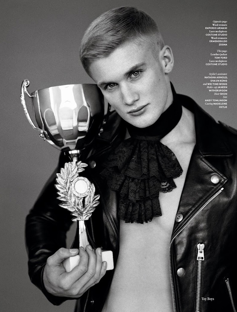 vogue hommes international toy boy