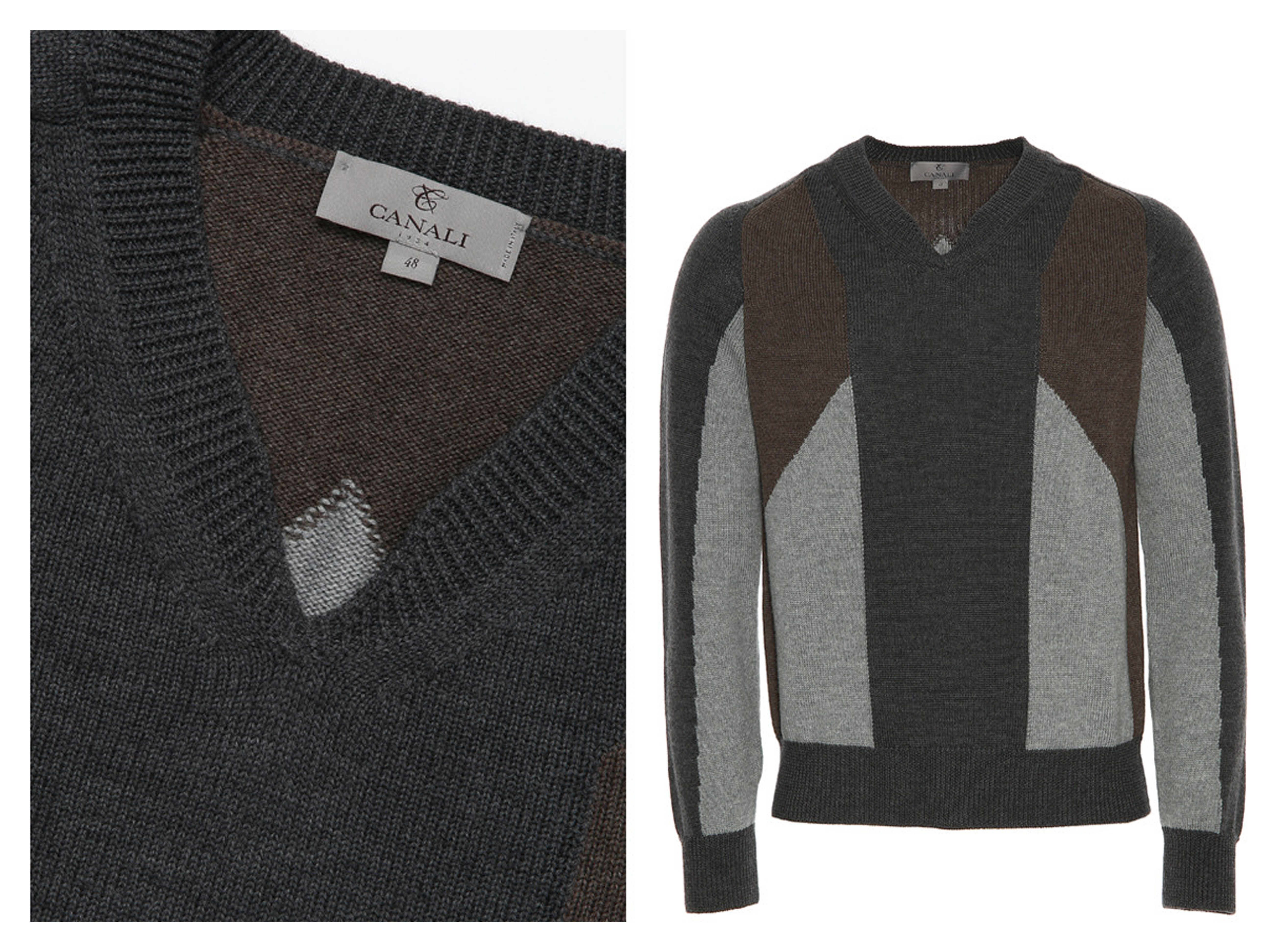 Canali Mens Tailoring Sweater