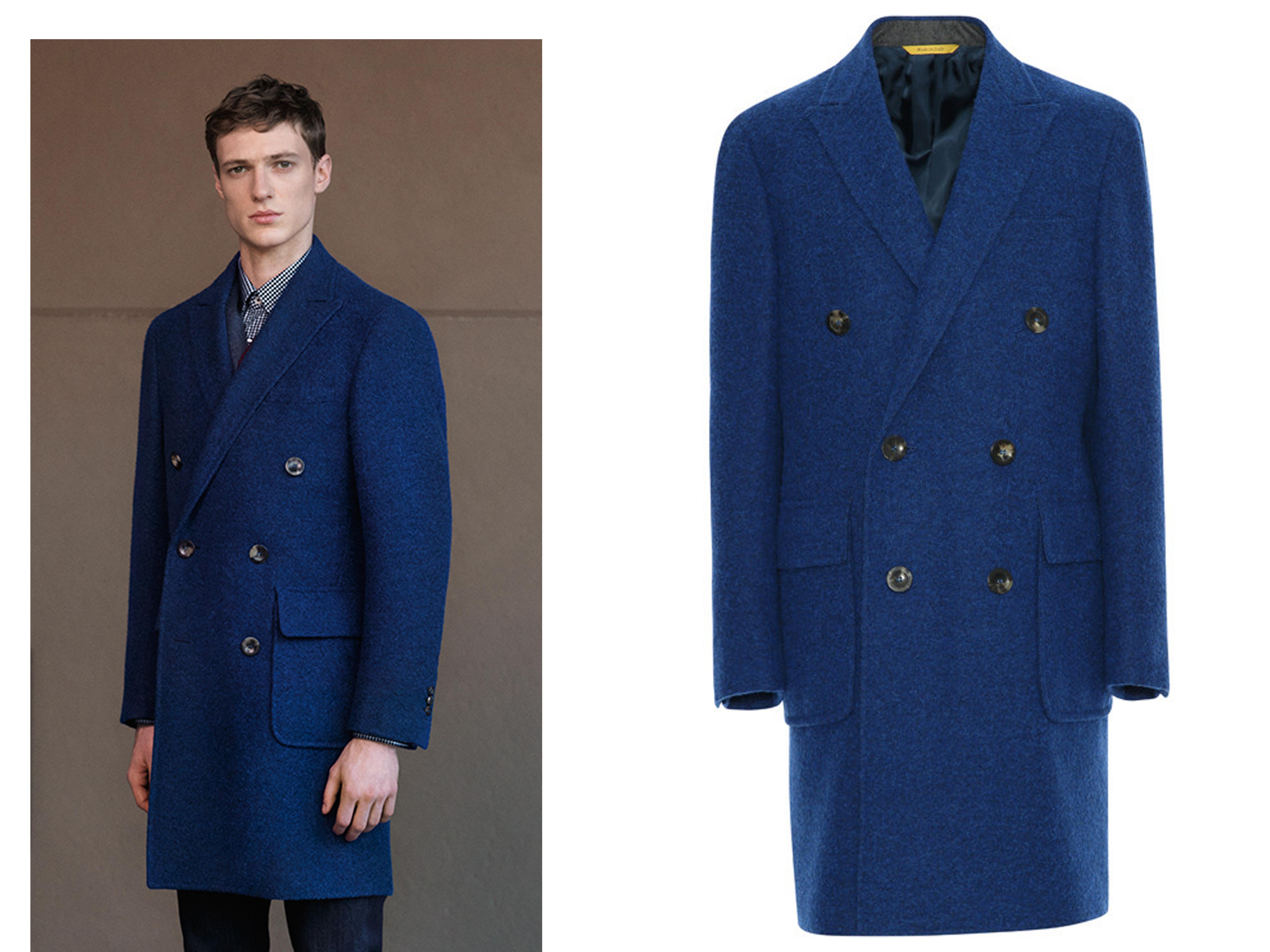 Canali Mens Tailoring Coat