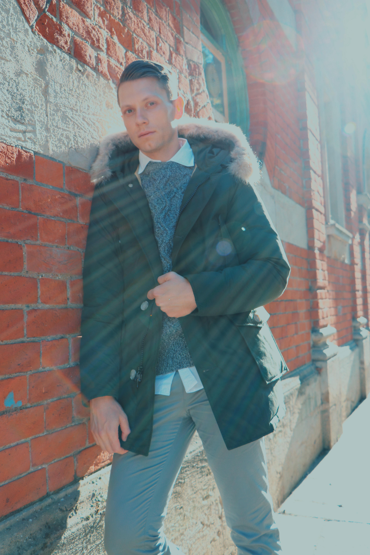 Woodhouse Style Menswear Winter Coat Woolrich