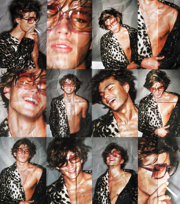 Jordan Barrett 7th Man Magazine naked