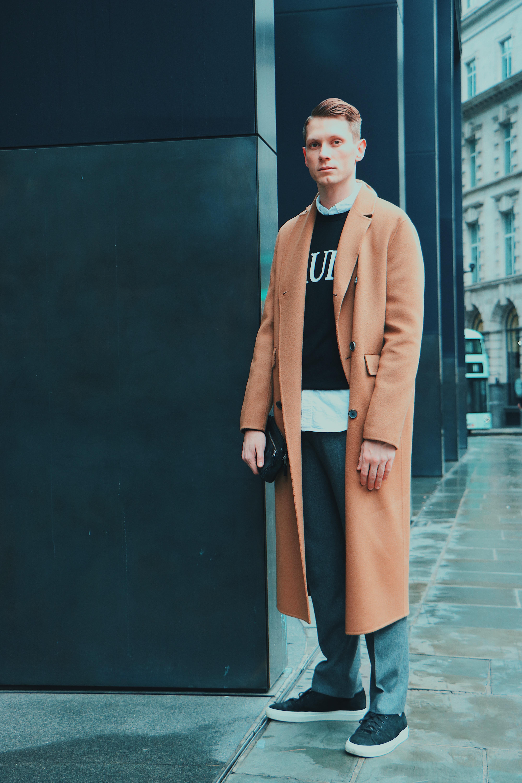 Acne Camel Cashmere coat